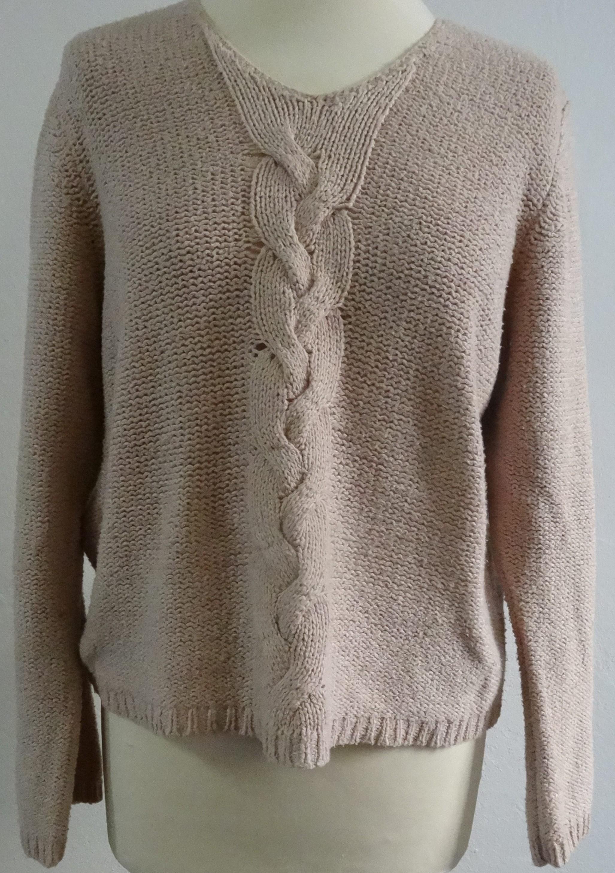 94ead78939d Dansk) Strik bluse - Care & Share Vintage